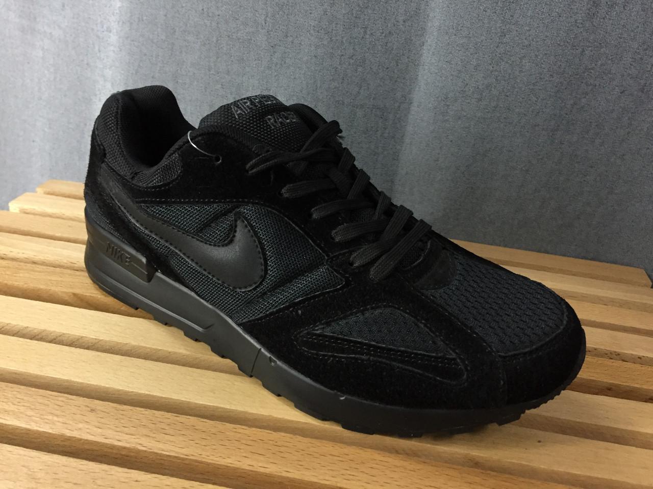 Мужские кроссовки Nike.Замша/Текстиль