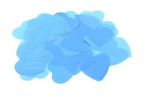 Конфетти сердечки голубые 10 грамм