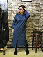 Платье свободного силуэта с длинным рукавом, фото 1