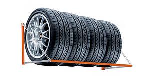 Полка-Стеллаж для хранения колес, шин и дисков. ТМ Кольчуга (Kolchuga), фото 2