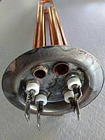 ТЭН для бойлера 2000 W с местом под анод М4 фланец Ø 63 мм