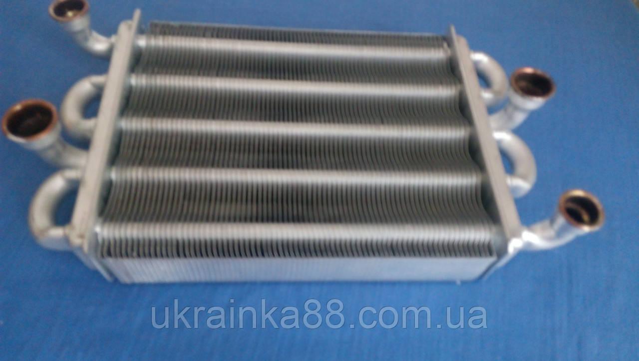 Теплообменник битермический  Ferroli Domiproject C24D, Fereasy C24D, F24D, Domina C24N , 39837660/39841310)