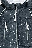 """Детский комбинезон зимний, теплый комбинезон на флисе H&M  """"Звездопад""""  на рост 74, 80, 86 и 92см, фото 2"""