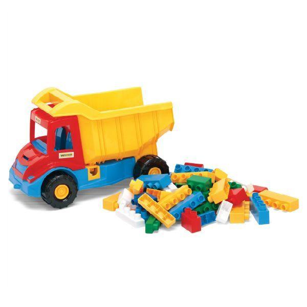"WADER ""Multi truck"" грузовик с конструктором W32330"