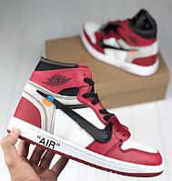 3cdf9c0a399b Мужские кроссовки Nike Air Jordan   the 10 x Off white. Живое фото (Реплика