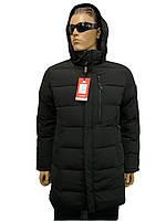 Куртка мужская зимняя Malidinu на синтепоне Модель 18860 фирмы Малидину Черная