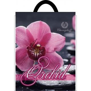 Пакет полиэтиленовый петлевой 250х300 орхидея Смела