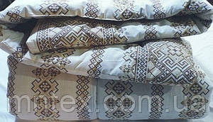 Одеяло стеганое чистая шерсть бязь Соло Орнамент