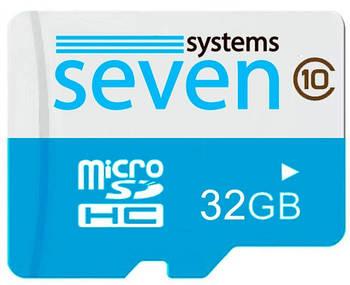 Карта памяти SEVEN Systems MicroSDHC 32GB Class 10