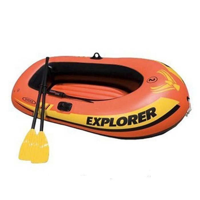 Лодка надувная весельная Intex Explorer 200 Intex Човен 185х94х41 см