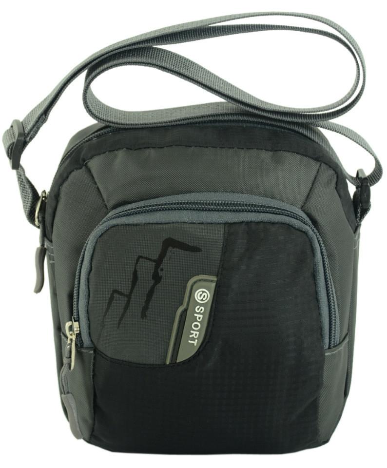 760fafba5064 Мужская вертикальная сумка Traum 7038-25 серый — только качественная ...