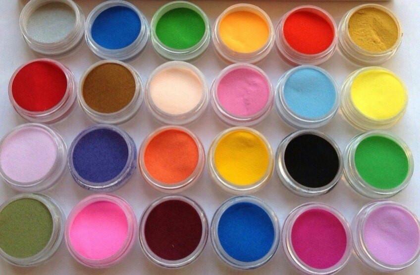 Набор цветного акрила COCO 24 шт
