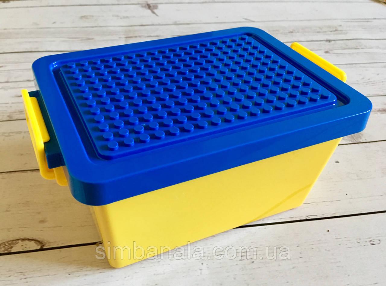 Ящик для хранения блоков Lego со столешницей