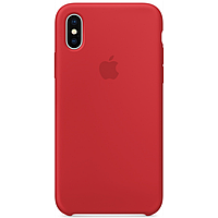 Silicone Case для Iphone XS MAX  (MRWH2) Red