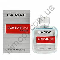 Мужская туалетная вода La Rive Game For Man 100 мл