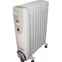Маслонаполненные электрорадиаторы Н0716В, 1,2кВт (7секций) Термия с вентилятором