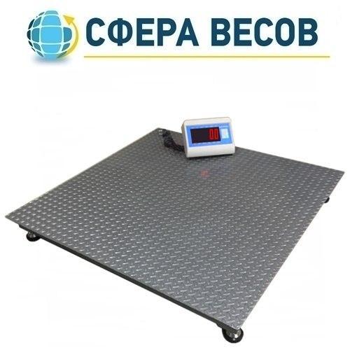 Весы платформенные Днепровес ВПД-1212 «PRO» (1 т)