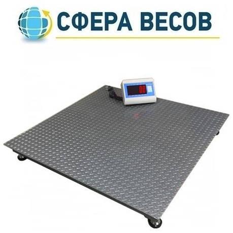 Весы платформенные Днепровес ВПД-1212 «PRO» (1 т), фото 2