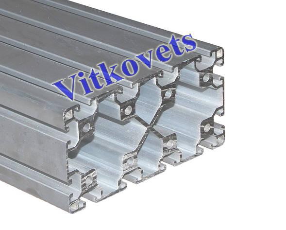 Станочный алюминиевый профиль  80х160A 3000мм, фото 2