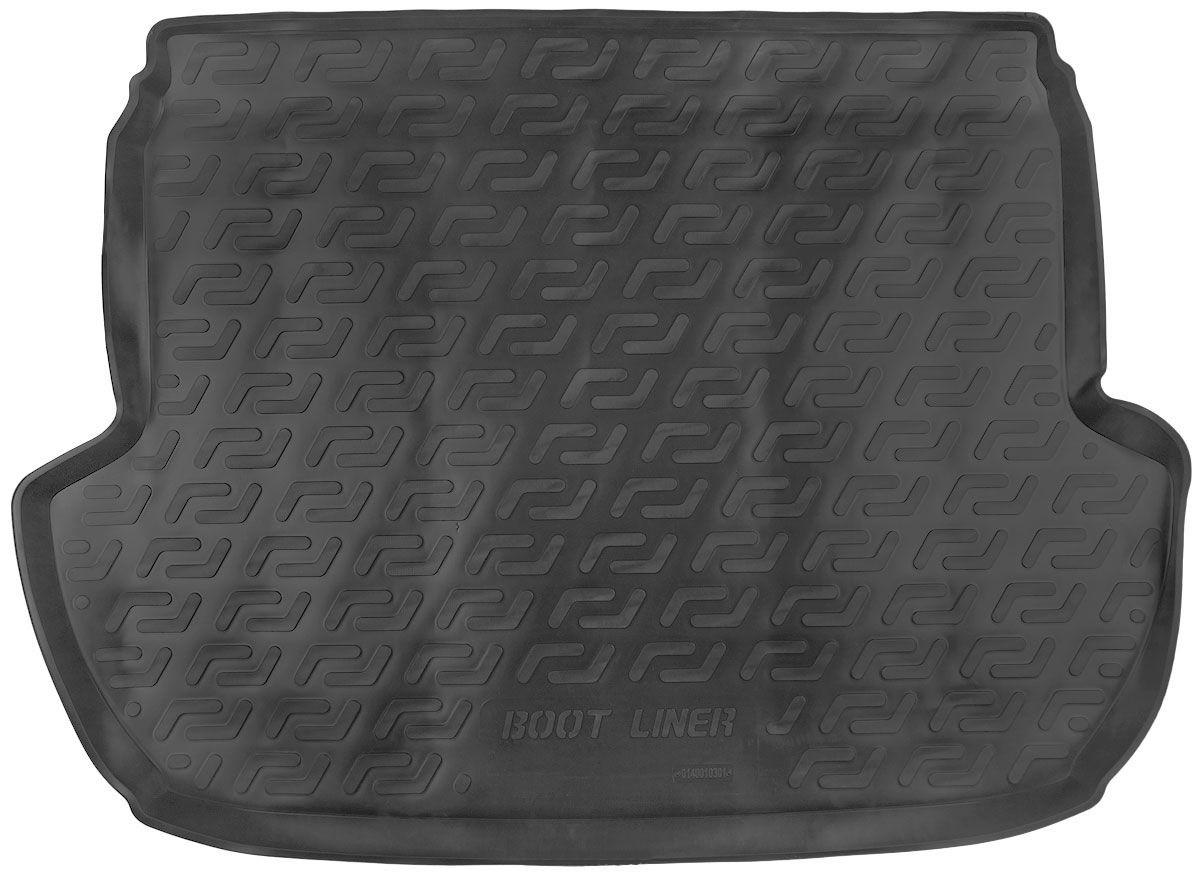 Коврик в багажник для Subaru Forester IV (12-) полиуретановый 140010301