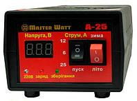 А-25 - автоматическое мини пуско-зарядное устройство для аккумуляторов 12В 25А, 3-300 А/час