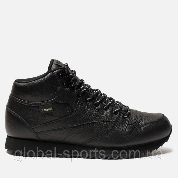 Мужские зимние кроссовки Reebok Classic Leather Mid Ripple(Артикул DV5107)  - Global Sport 0ea578e1374