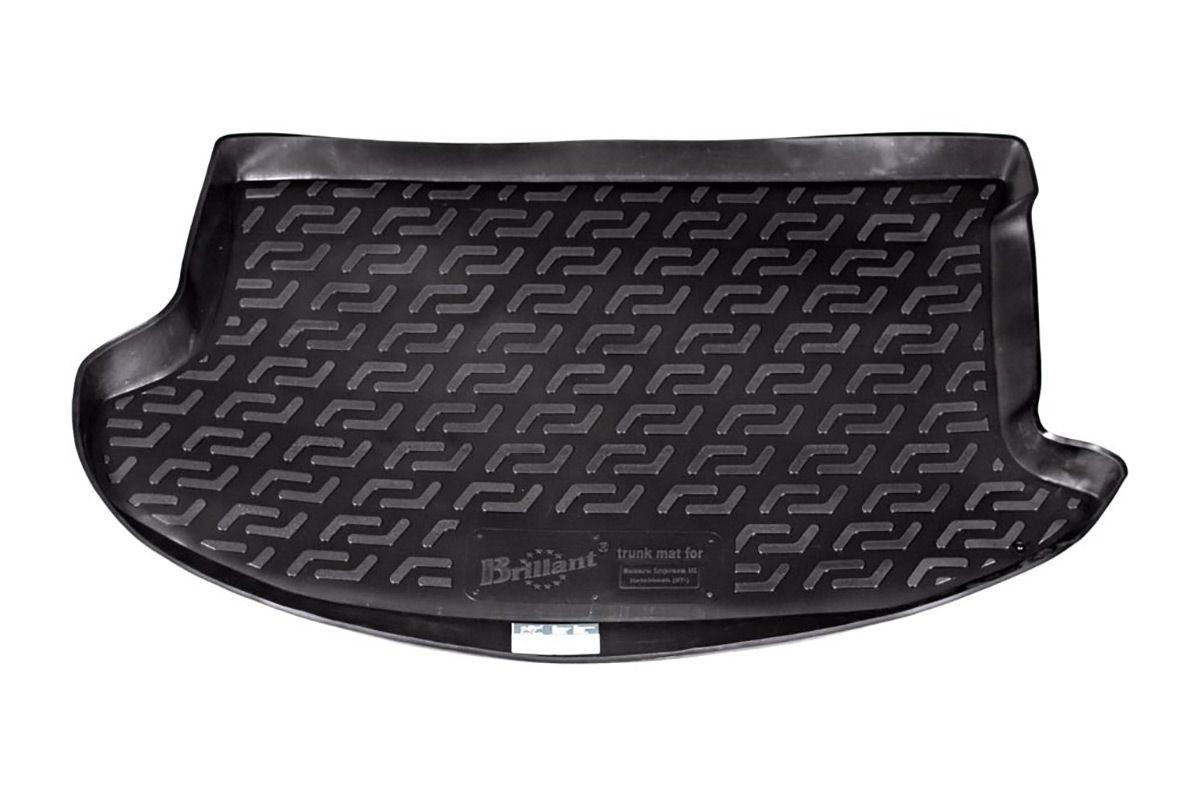 Коврик в багажник для Subaru Impreza HB (07-) полиуретановый 140020101