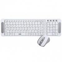 Беспроводной комплект Клавиатура и мышь CBR SET 708 White