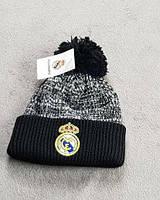 Футбольная шапка Реал черная