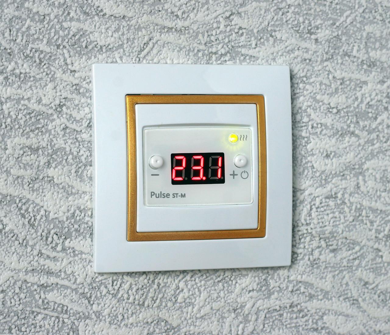 Цифровий терморегулятор ST-1 для підігріву підлоги (1 датчик)