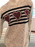 Тепла підліткова кофточка 40-48р. Туреччина, фото 9