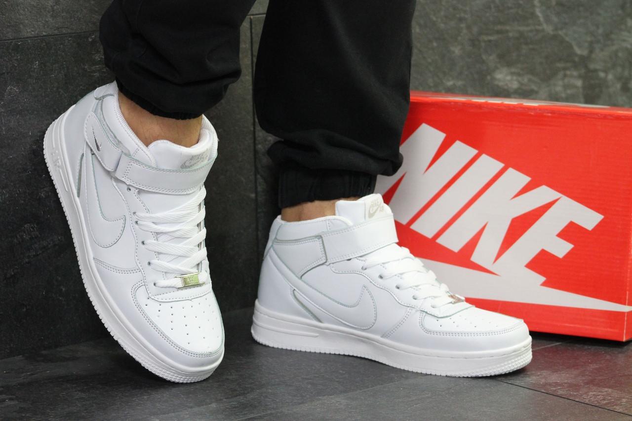 0cf858b8 ... Кроссовки в стиле Nike Air Force (белые) мужские кроссовки найк код  товара 6376, ...