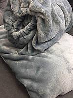 Комплект чехол на кушетку и плед, серебро, фото 1