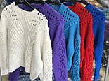 Женский теплый свитер объемной вязки (3 цвета), фото 2