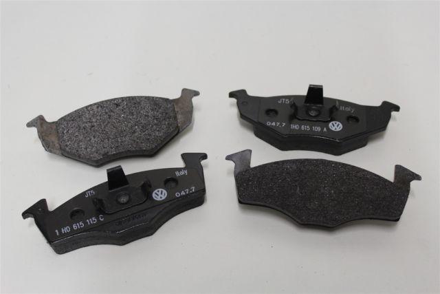 Колодки тормозные Skoda Fabia передние KEMP