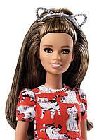 Кукла Барби из серии Модницы с кошачьими ушками Barbie Meow Mix Doll