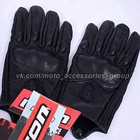 Мото перчатки Icon , фото 1