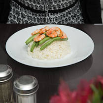 Тарелка обеденная белая ARCOROC RESTAURANT 23,5 см 22522, фото 3
