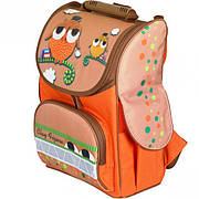 Детский каркасный ранец Tiger Clay Figure Совы Оранжевый (20181116V-510)