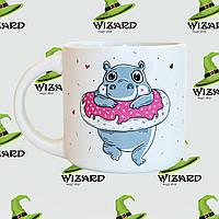 Дизайнерская чашка Donut Worry