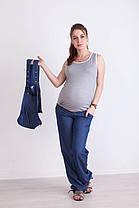 Летний комбинезон для беременных 42,44,46 трансформер, фото 2