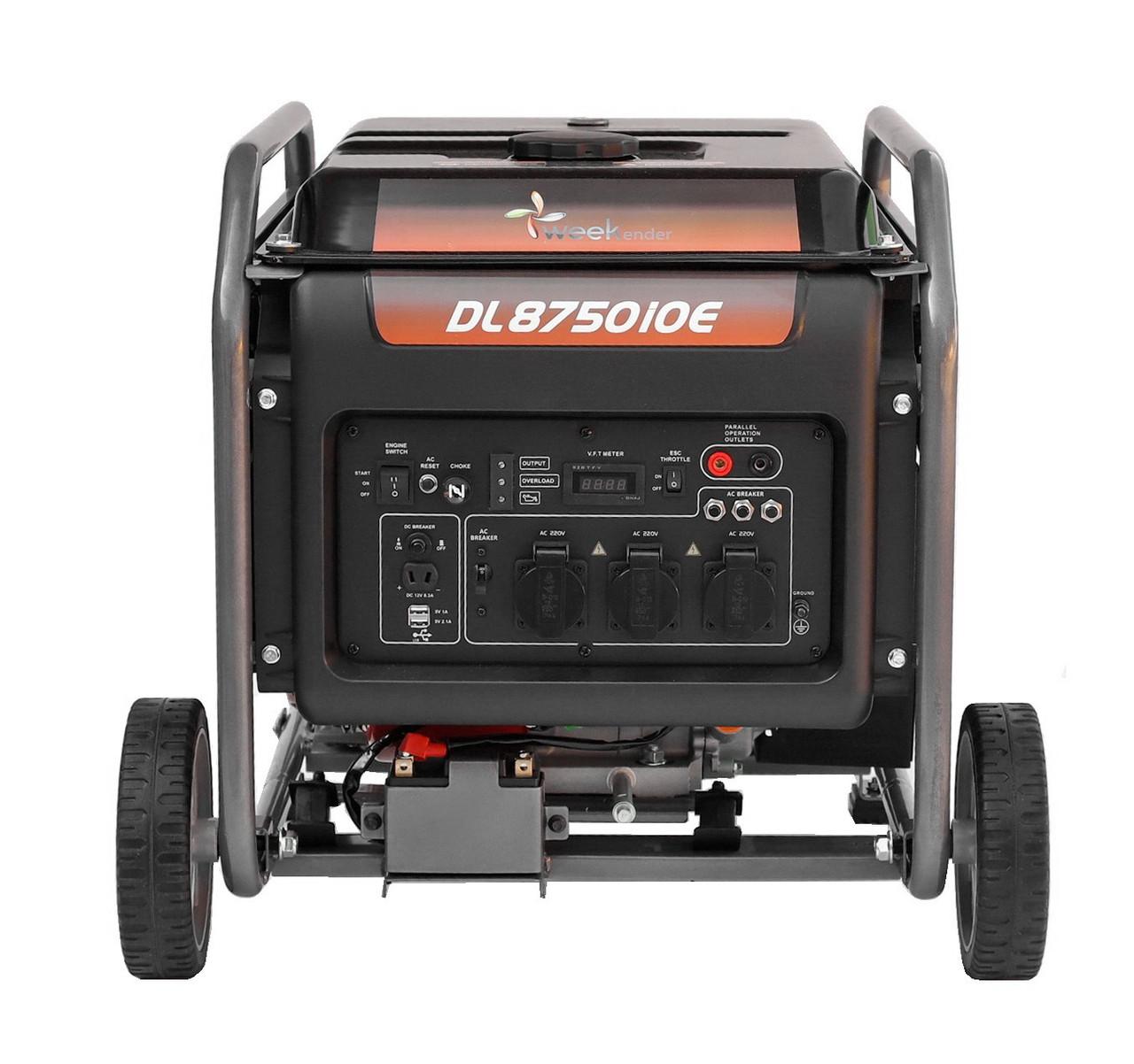 Генератор-инвертор Weekender 7,5 кВт  DL8750iOE