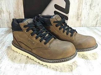 Полуботинки мужские Fila Grunson Boot Оригинал, кожаные. Новые в коробке. 43 размер