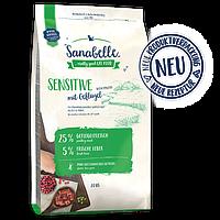 Bosch Sanabelle (Санабель) Sensitive корм с птицей для кошек с чувствительным пищеварением 2 кг, фото 1