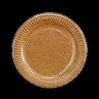 Тарелка картон КРАФТ ХТ18 (160)  (12/1200ящ)