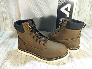 Ботинки мужские Fila Grunson Boot Оригинал, кожаные. Размер 43.