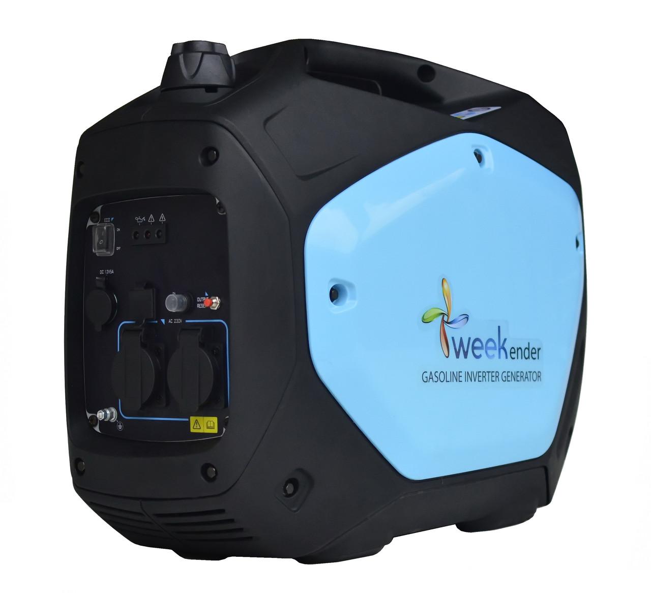 Генератор-инвертор Weekender 2,2 кВт GS2200i w 2-е поколение
