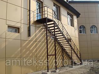Простые каркасы лестниц