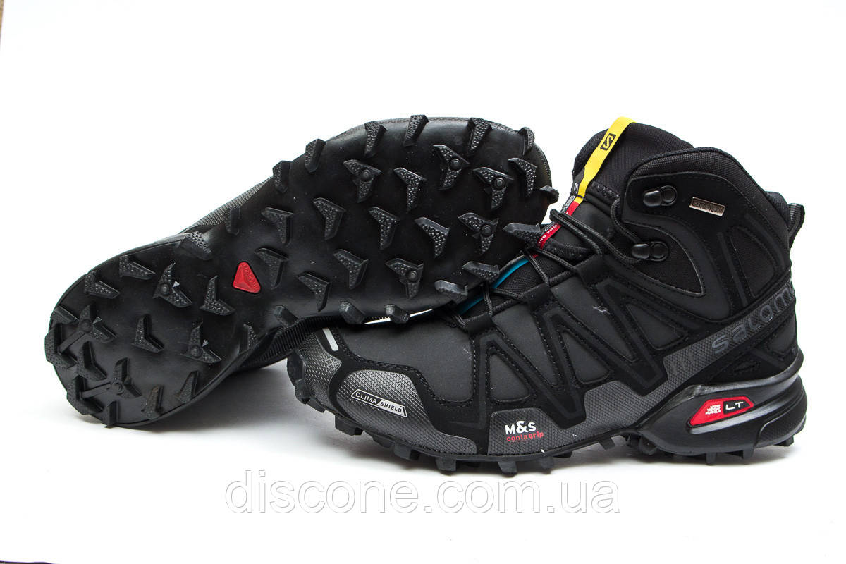 626cba918 Зимние ботинки ▻ Salomon Speedcross 3 M&S Contagrip, черные (Код: 30181) ▻  [ 41 43 ] ✅Скидка 30%
