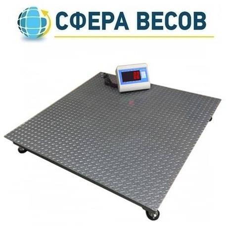 Весы платформенные Днепровес ВПД-1215 «PRO» (1 т), фото 2